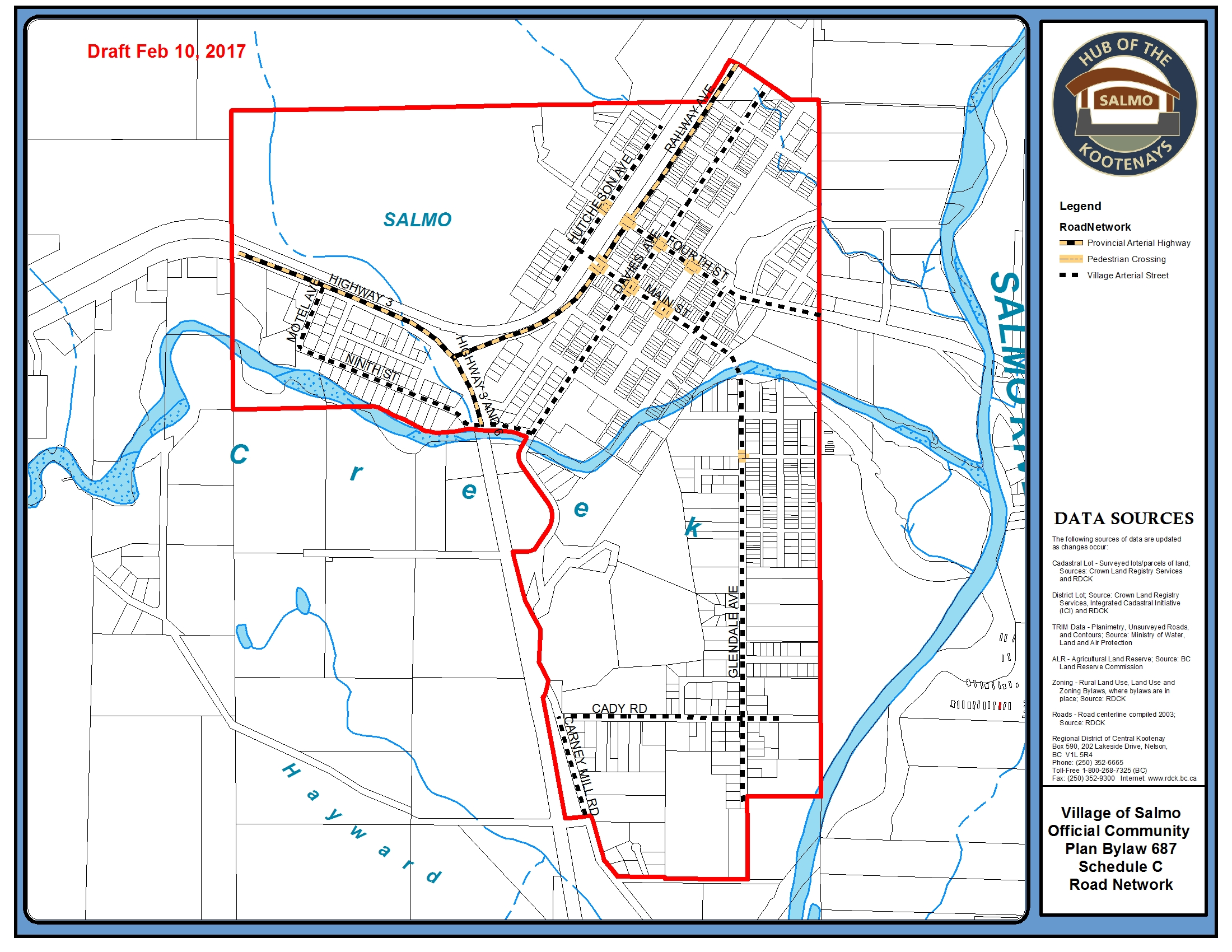 Updated Draft Salmo Community Plan Available For Review Village Of